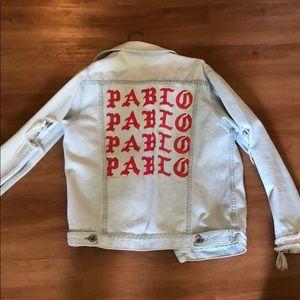 Jackets & Blazers - Yeezy Pablo Jean Jacket